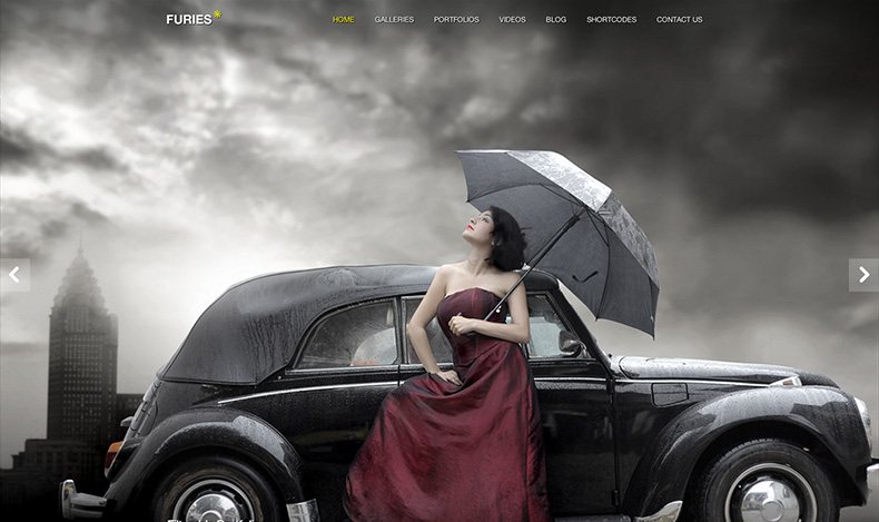 Furies Wordpress Theme