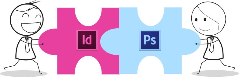 indesign and photoshop
