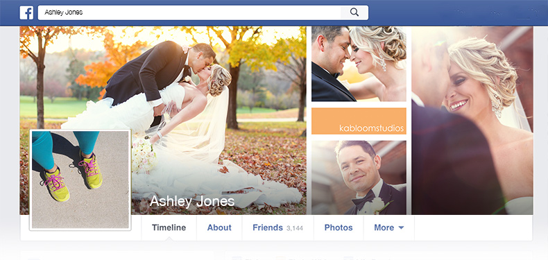 Facebook Timeline Cover InDesign